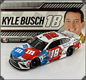 """2020 KYLE BUSCH #18 M&M's """"THANK YOU HEROES"""" TOYOTA CAMRY 1:24 """"780 MADE"""""""