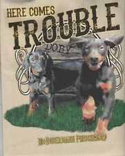 Doberman Pinscher Double Trouble Tote