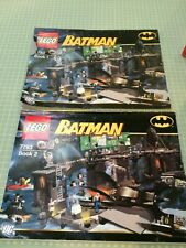 LEGO Batman I Penguin & Mr. Freeze's Invasion 7783, rare retired, bricks instrns