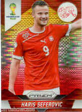 2014 World Cup Prizm Yellow Red Parallel No.188 H.SEFEROVIC (SWITZERLAND)