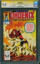 Phoenix Untold Story 1 CGC SS 9.8 Terry Austin Sign X Men Movie Wraparound Cover