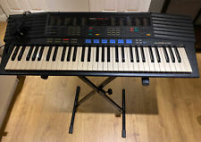 Yamaha PSR-47 Electronic Keyboard Drum Kit Effects & Stand - Tested