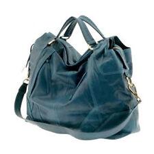 NEW $500 Andrew Marc Joplin Large Leather Tote Handbag Gorgeous Teal Blue