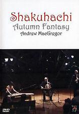 SHAKUHACHI AUTUMN FANTASY WITH ANDREW MACGREGOR - DVD - REGION 2 UK