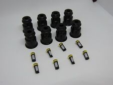 Racetune 8x 1/2 to 3/4 Length 14mm Adapter Injector Extension Bosch 2000cc E85