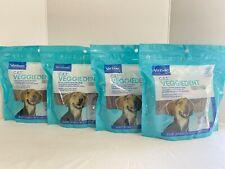 New listing 4 Virbac C.E.T. VeggieDent Fr3sh Tartar Control Chews For Dogs Medium x 30 =120