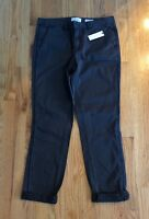 Anthropologie Oxford Relaxed Gray Chino Jeans Sz 29 NEW