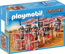 5393 Tortuga tropa romanos 6u Playmobil romano,roman,romain,legionario,legionary