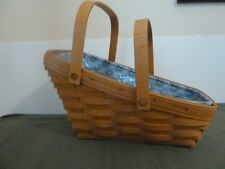 Longaberger Basket Combo with Liner and Protector