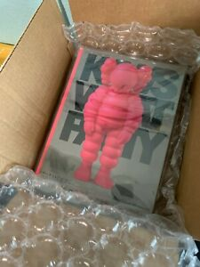last one KAWS WHAT PARTY Hardcover Book  PINK  First Printing