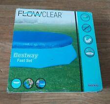 10ft Bestway Flowclear 58033 3.35m Pool Cover for Bestway Fast Set