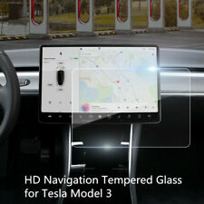 Vidrio templado para tablero DVD de navegación Tesla Modelo 3/S/X protector de pantalla