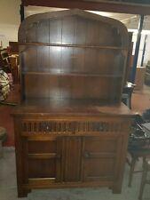 Antique Oak Welsh Dresser. Vintage Dresser. Sideboard.