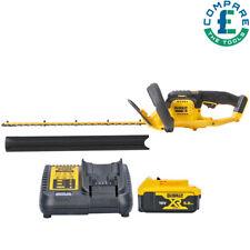 More details for dewalt dcm563p1 18v xr cordless hedge trimmer with 1 x 5 ah battery & charger