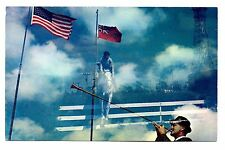 Bethesda Hospital Horse Show Postcard Delray Beach Florida Flags Country Club