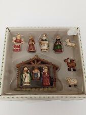 11 Piece Mini Nativity Scene Set