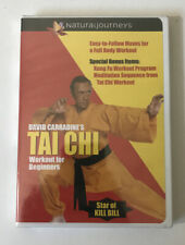 David Carradine's Tai Chi Workout for Beginners (DVD, 2003)