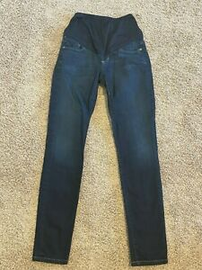 Citizens of Humanity Maternity Jeans Sz 24 Skinny High Rise Belly Panel Gorgeous