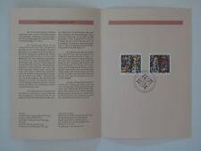 (95j40) Bund Erinnerungsblatt 1995 mit ESST Mi.Nr. 1831-1832 Weihnachten