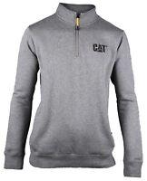 CAT Caterpillar Canyon 1/4 Zip Sweatshirt Mens Durable Work Sweater Jumper