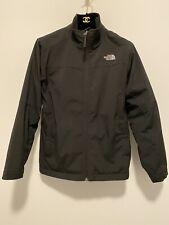 NORTH FACE Boy's Soft Shell Black Fleece Jacket Large Sz 14-16; Fits Woman XS-S