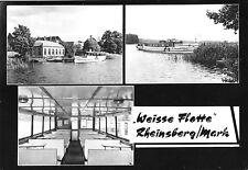 AK, Rheinsberg Mark, Weiße Flotte, drei Abb., 1969