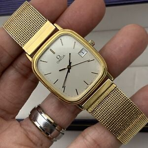 Omega Cal. 1430 Quartz Vintage Wrist Watch Dial ~ No Reserve