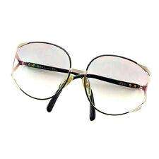 Dior sunglasses Black Gold Woman Authentic Used E903