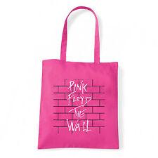 Art T-shirt, Borsa  Pink Floyd The Wall, Fucsia, Shopper, Mare