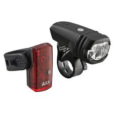 AXA Batterie-Beleuchtungsset Green Line 50 LUX - schwarz