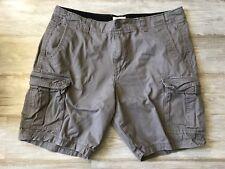 Trinity Men's Gray Cargo Pocket Shorts Size 40 Waist