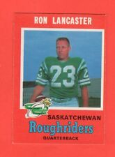 1971 OPC O PEE CHEE CFL # 101 RON LANCASTER exmt-nrmnt
