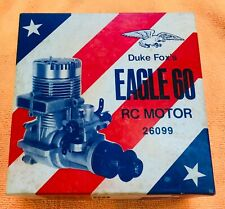 Fox Eagle  60 RC Model Airplane Engine Brand New In Box #2