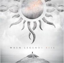 Godsmack - When Legends Rise - New Grey Marble Vinyl LP - Pre Order 1st June