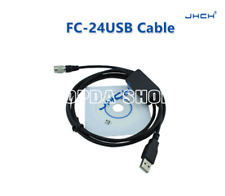 FC-24USB cable for Topcon Stonex Gowin Total Station with Win7/Win8/Win10/winxp