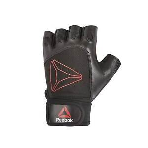 Reebok Lifting Glove Unisex Sport Activity Gloves Ventilated Mesh Oval