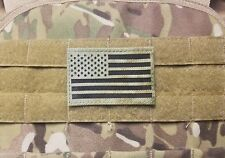 IR US Flag Military Tactical  Hook Morale Patch A-TACS FG Infrared Reflective