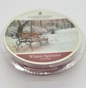 Goose Creek Candle - Wax Cube Melts WINTER SPLENDOR SCENT 2.1 oz NEW PACK