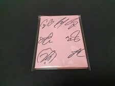 BTS Map of the soul : persona All member Singed album