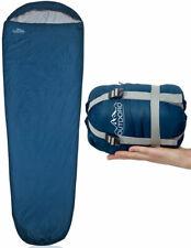 Outdoro ultraleichter Schlafsack - kleines Packmaß - leicht, dünn und warm