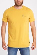 2017 NWT MENS BILLABONG SUPPORT T-SHIRT $22 L bright gold tailored fit