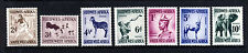 SOUTH WEST AFRICA 1954 The  Wildlife Part Set SG 155 to SG 165 MINT