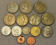 set of 14 different coins from Philippines