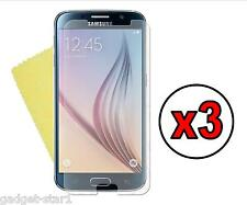 3x Hq Mate Anti Glare Screen Protector Funda Film Protector Samsung Galaxy S6