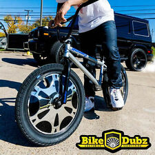 BikeDubz Mayhem - 20 Inch Disc Wheel Covers For BMX Bicycle Fits We The People