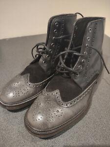 HUGO BOSS Orange mens casual boots size 9 - 43
