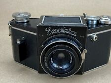 Ihagee Exakta B 1936 Camera 828 Film Converted w/ 5.5cm f/8 Carl Zeiss Tessar