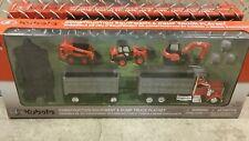 Kubota Construction Equipment & Dump Truck Playset 77700-08701