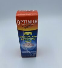 Optimum Lobob WRW Wetting and Rewetting Drop for Rigid Gas Permeable Lenses 4/21