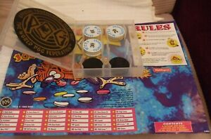 WADDINGTONS POG SET  ** MICRO TOURNAMENT GAME PACK - ALL COMPLETE ** YEAR:1995
